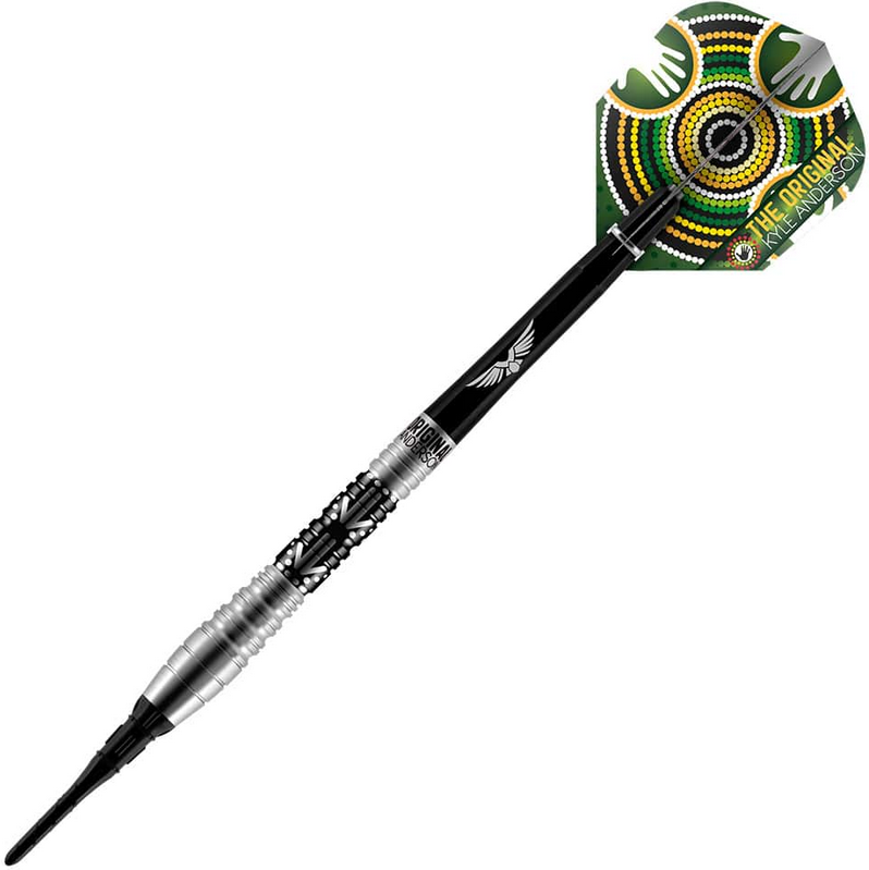 Shot Pro Series Kyle Anderson Battler 80% Tungsten Soft Tip Dart 20 grams