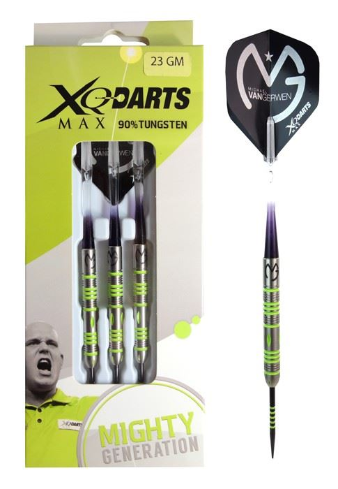 Shots XQMax Michael Van Gerwen Mighty Generation 90% Tungsten 25 grams