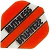 Ruthless Flights - Orange and Clear Standard