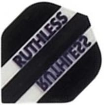Ruthless Flights - Black and Clear Standard