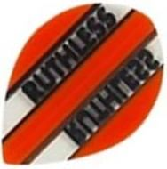 Ruthless Flights - Orange and Clear  Pear