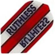 Ruthless Flights - Red and Clear Slim