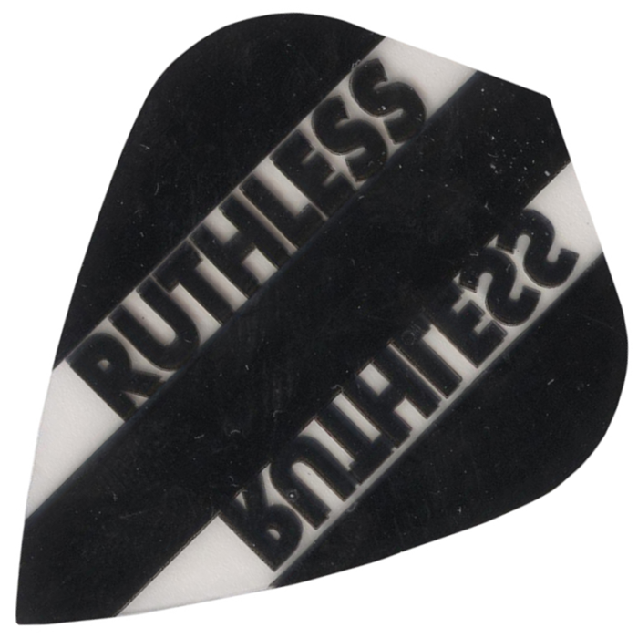 Ruthless Flights - Black and Clear Kite