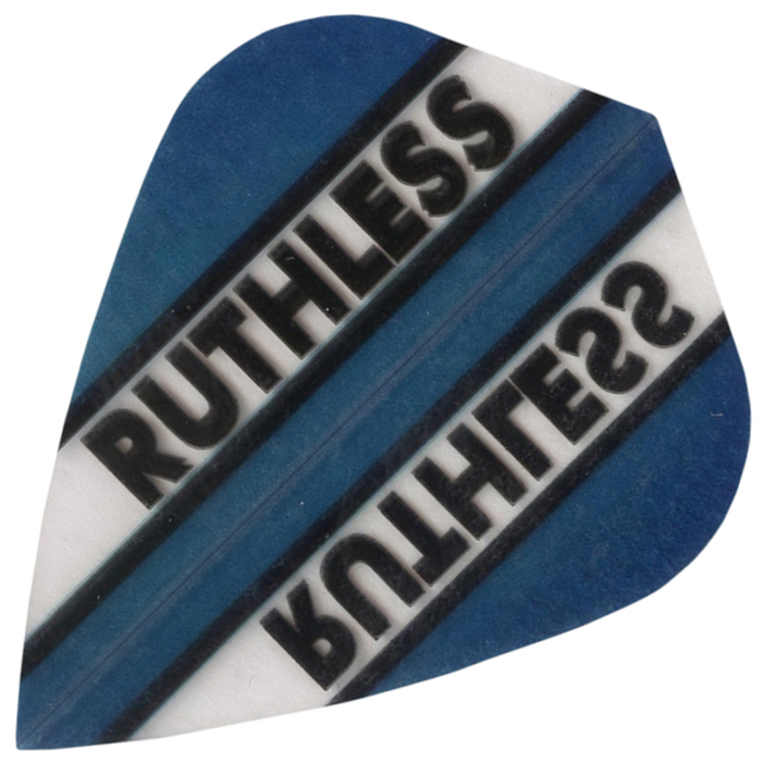 Ruthless Flights - Blue and Clear Kite