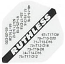 Ruthless Flights - White Out Chart Standard
