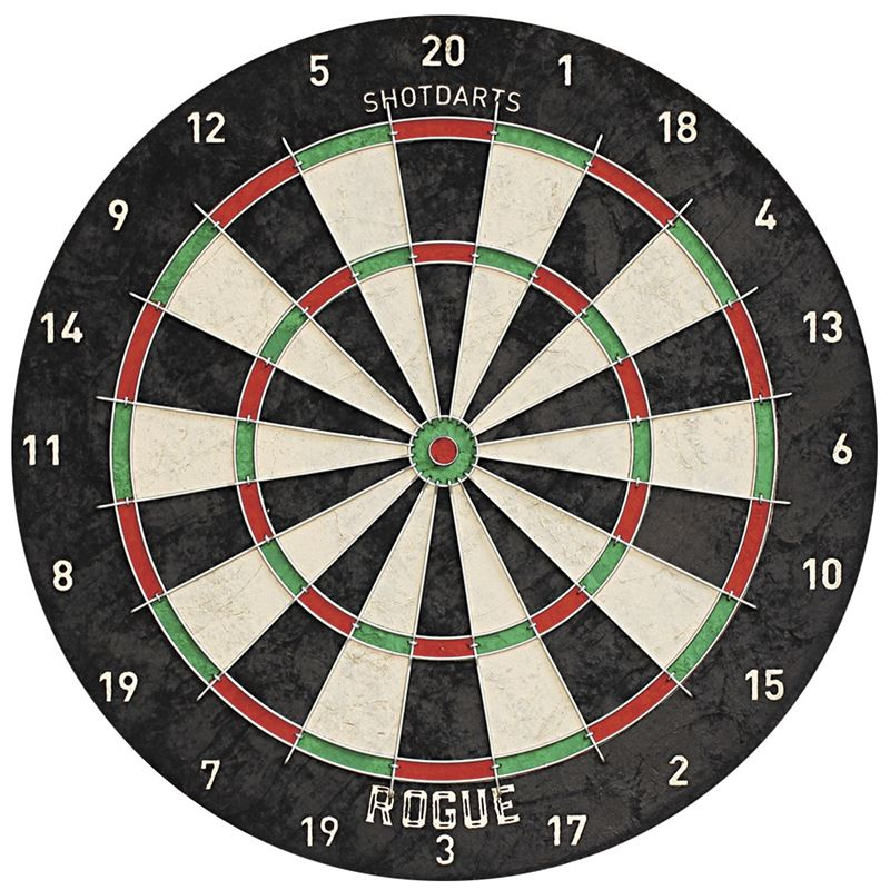Shot Rogue Bristle Dartboard