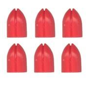 L-Style Shell Lock Rings - Red